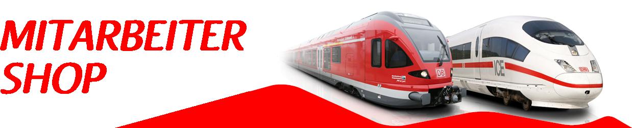 Shop für Mitarbeiter der Deutschen Bahn